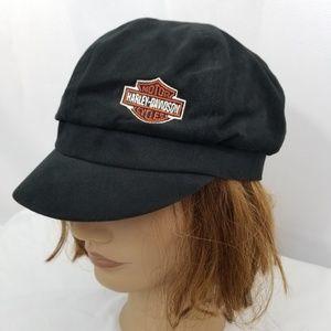 Harley-Davidson Embroidered Patrol Cap Hat Women's
